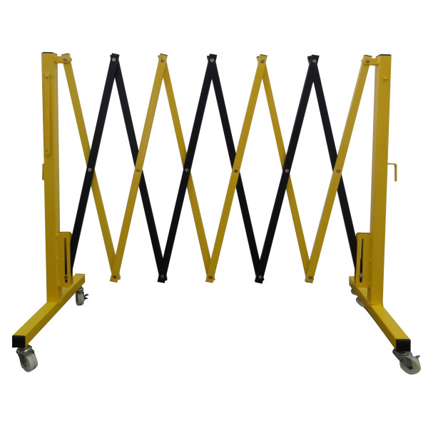 1310 Retractable Criss Cross Barricade C W Castor